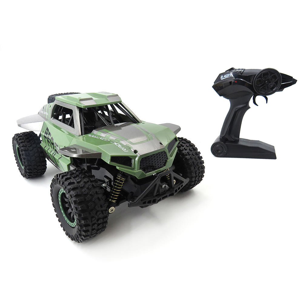 Flytec SL 146A 1/14 Scale Remote Control Car Toy 2.4GHz 20 25km/H High Speed Independent Suspension Spring Off Road Vehicle