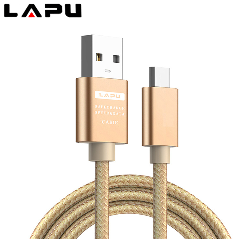 LAPU Type C Data USB Charger Cable For Galaxy S8 S9 Plus Note 8 9 G6 G5 Origin Mobile Phone Accessory Wire Cord Fast Char i Letv in Mobile Phone Cables from Cellphones Telecommunications