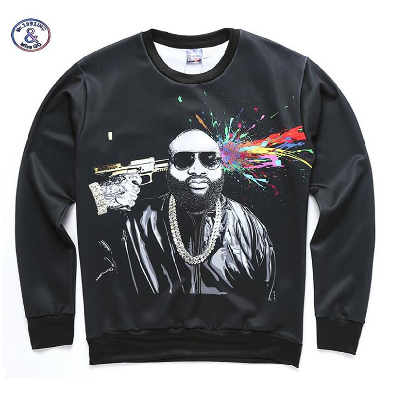 Mr.1991INC&Miss.GO men's fashionable hoodies casual sweatshirts man 3D printed tops pullovers spring fall brand clothing