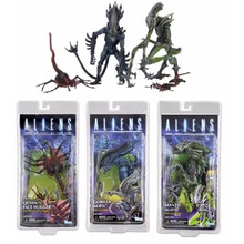 Neca AVP Alien Vs Predator Figure Series Queen Wajah Pemeluk Mantis Gorila Alien PVC Aksi Angka Model Mainan Hadiah(China)