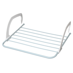 1 x Radiator Clothes Airer Laundry Indoor Outdoor Balcony Rail Drying Rack Dryer