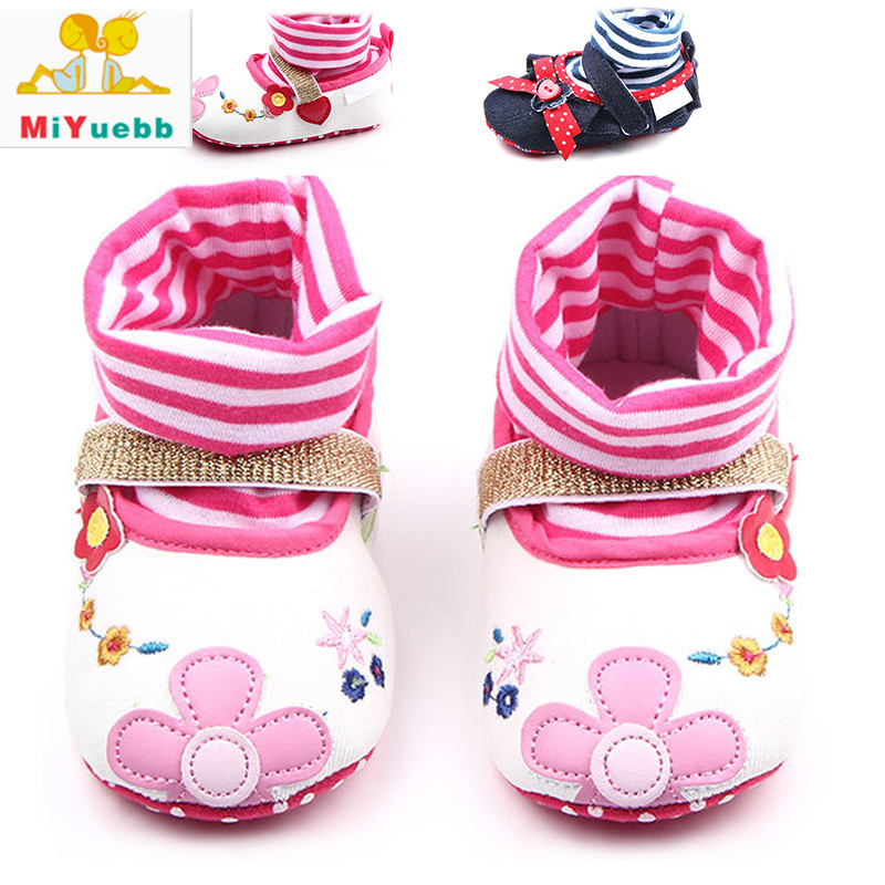 New 1 Pair Children Sleeve Sock Casual Shoes Anti-skid Baby Soft Bottom Shoes 3 Size Baby Prewalking Breathable Shoe
