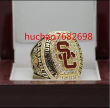 USC университет Южной Калифорнии 2016-2017 чемпионат кольцо 8-14 Размер медь версия Выгравированы внутри