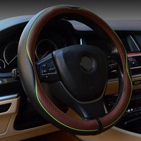 Leather Universal Car Steering wheel Cover 38CM Car styling Sport Auto Steering Wheel Covers Anti Slip Automotive Accessories
