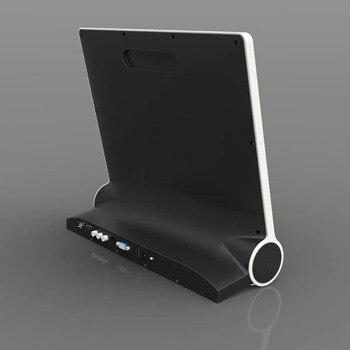 dawupine 15 Inches LCD TV DVB-T2 Soundbar Bluetooth Speaker USB HD 1080P Vedio Play Cable TV Broadcasting VGA Computer Monitor 4