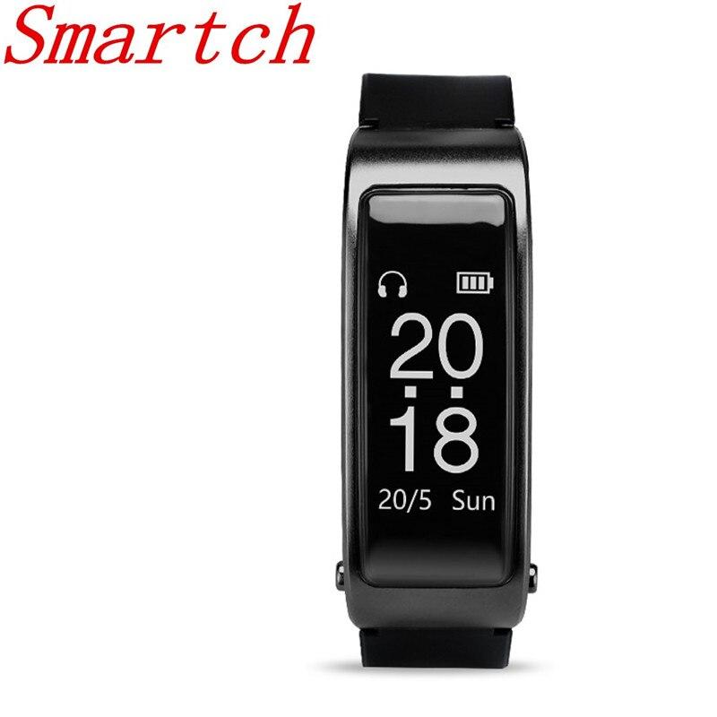 Smartch Y3 Bluetooth гарнитуры Smart Браслет пульсометр спортивные часы Band вызова слушать