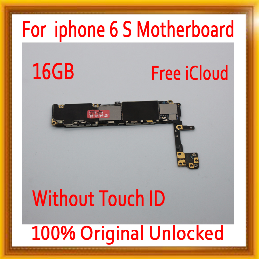 16 GB di Trasporto iCloud per iphone 6 S Scheda Madre senza Touch ID, sbloccato originale per iphone 6 S Schede Madri + Pieno di Chip16 GB di Trasporto iCloud per iphone 6 S Scheda Madre senza Touch ID, sbloccato originale per iphone 6 S Schede Madri + Pieno di Chip