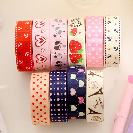 DIY Cute Fabric Cloth Tape Sweet Sticker for Decor Scrapbooking Designer Crafts Gift Office & School Supplies