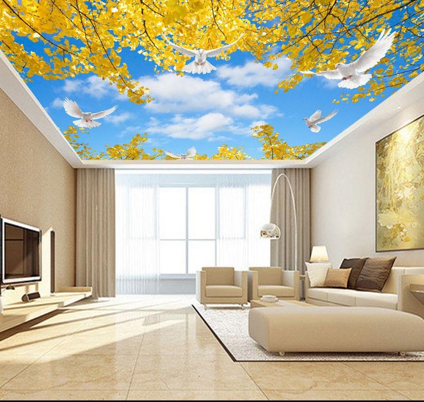 Виды фотопечати на обоях и потолке лучше
