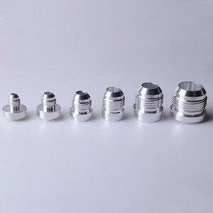 Image 1 - SPEEDWOW Adaptador de montaje de soldadura macho y recto AN4 de aluminio de alta calidad, accesorio de manguera de acero inoxidable