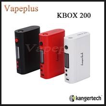 เดิมKbox 200ควบคุมอุณหภูมิKangetech Kbox Mod 200วัตต์บุหรี่อิเล็กทรอนิกส์ชุดสมัยKbox 200วัตต์
