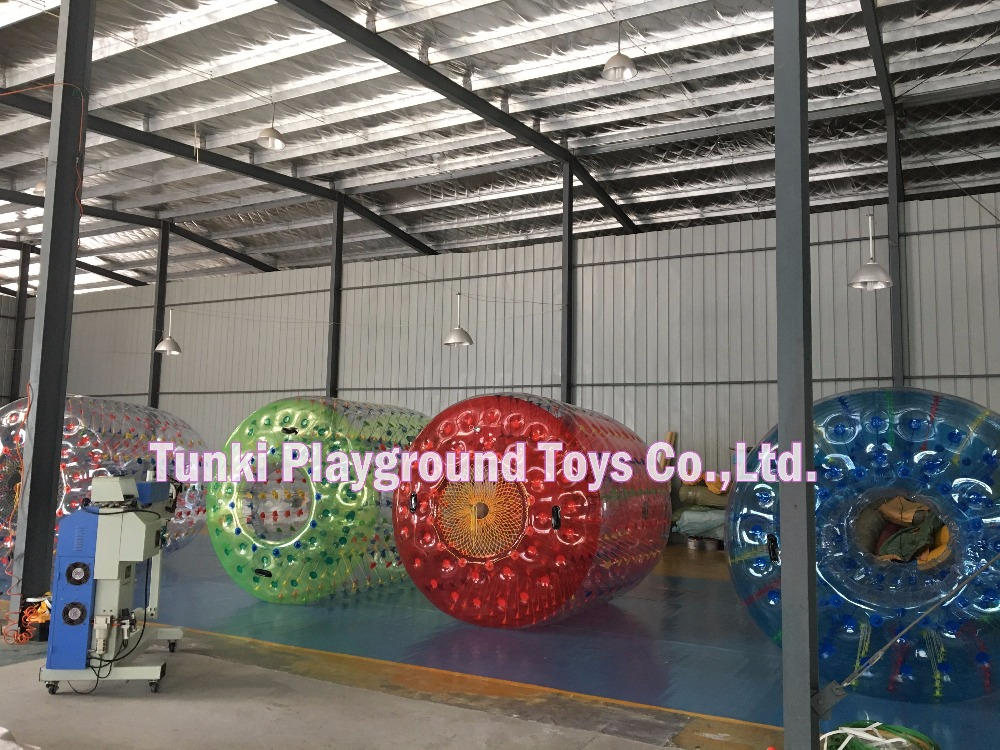 colorful inflatable water roller for sale