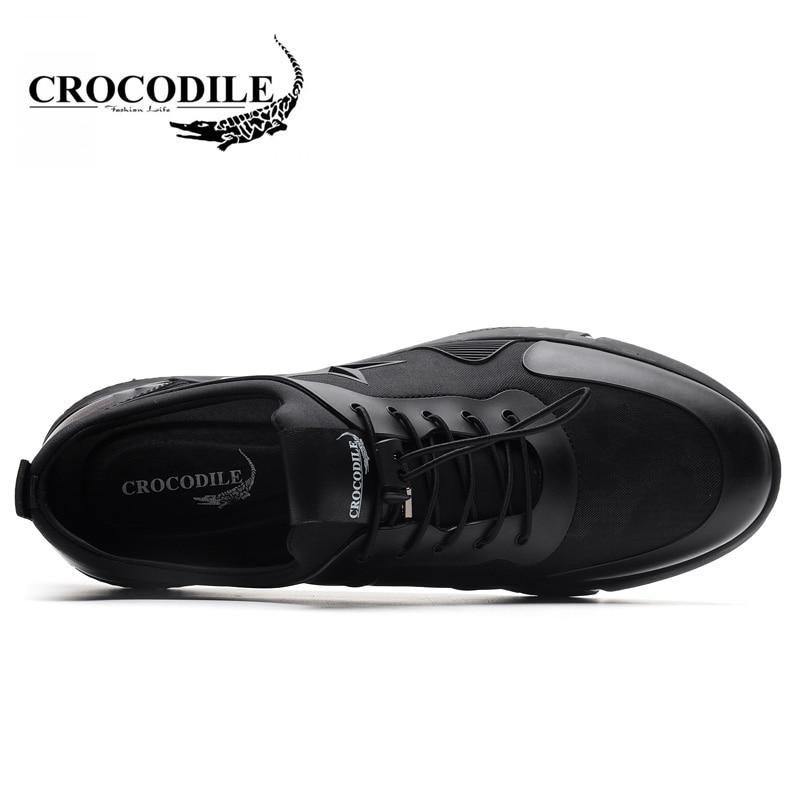 Крокодил Для мужчин 2018 новые весенние мужские кроссовки дышащие вентиляции кроссовки студент путешествия Training спортивная обувь