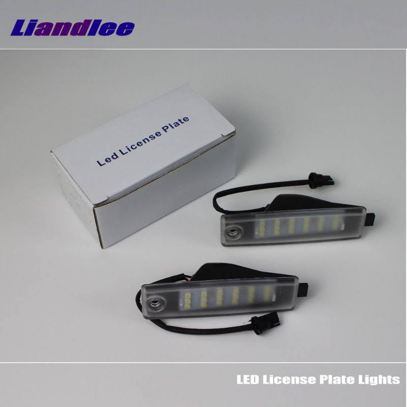 For Toyota Harrier / <font><b>Lexus</b></font> RX 300 <font><b>RX300</b></font> <font><b>1998</b></font>~<font><b>2003</b></font> Car License Plate Light / Number Frame Lamp / High Quality LED Lights image