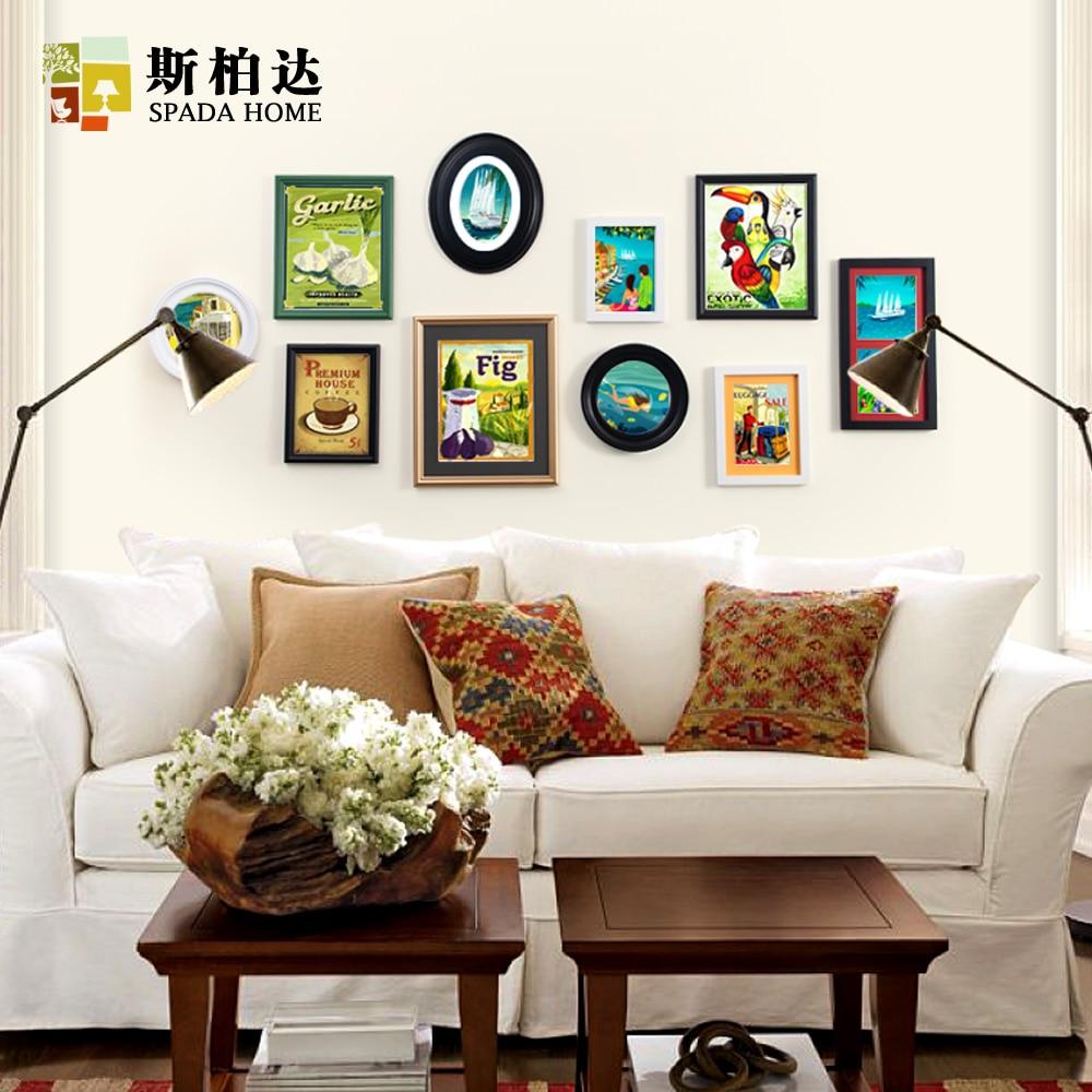 Hermosa Pared Collage Marcos De Las Ideas Ornamento - Ideas de Arte ...