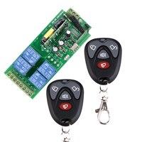 1000W AC85v 250V 110V 230V 4CH Wireless Remote Control Switch 220V Relay Output Radio RF Transmitter