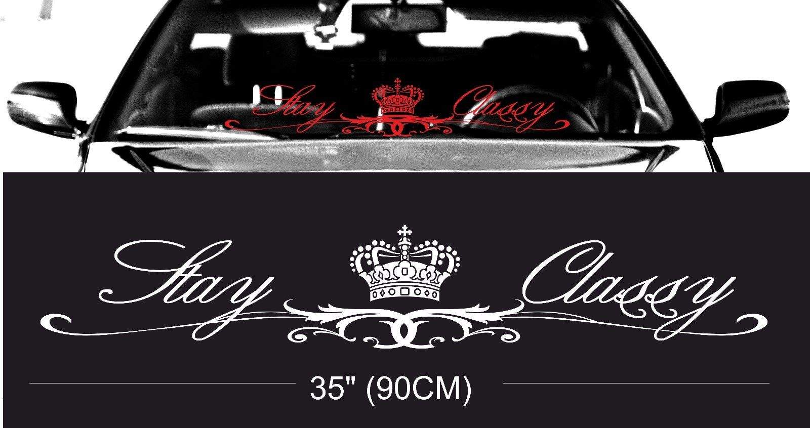 Car Windshield Decals PromotionShop For Promotional Car - Promotional car window decals