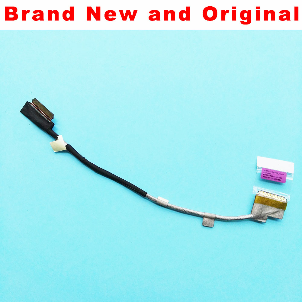Computer Cables & Connectors Supply New Original Lcd Cable For Lenovo T560 P50s T550 W550s Laptop Edp Lcd Lvds Led Cable Sazan2 Touch Edp Cable 450.06d05.0011 Sale Overall Discount 50-70%