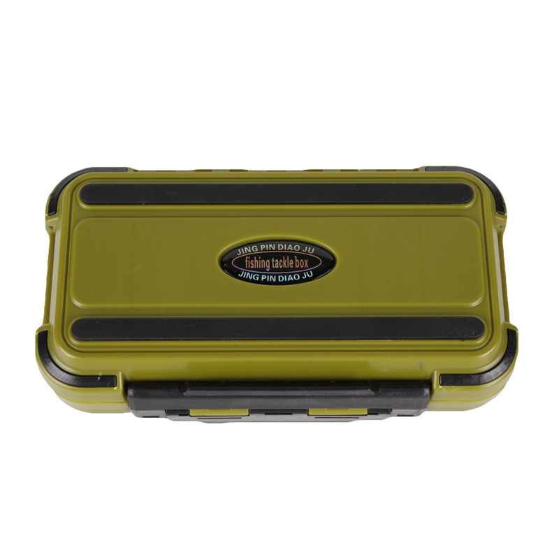 Image 2 - 20CM Fishing Tackle Box Multiple Compartments Double Sided Fish Lure Bait Line Hooks Holder Container Fishing Accessories Box h-in Fishing Tackle Boxes from Sports & Entertainment