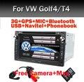 """7 """"Сенсорный Экран Dvd-плеер Автомобиля для VW Golf 4 Passat T4 B5 с 3 Г GPS Bluetooth Радио Canbus SD USB Свободной Камеры + 8 ГБ карта"""
