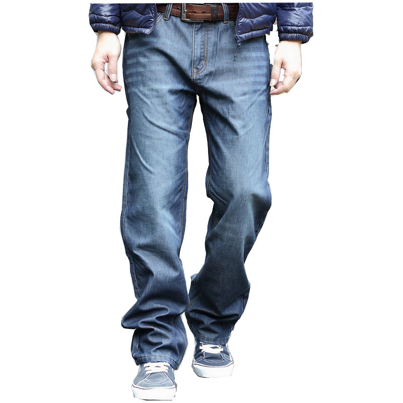 Hip Hop Baggy Jeans Mens Denim Hip-hop Loose Pants Rap Jeans For Boy Rapper Fashion Big Size 28-44 Brand Jeans