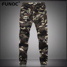 New Spring Autumn Camouflage Military Jogger Pants Men Pure Cotton Skinny Pencil Harem Pant Men Comfortable Trousers Camo Jogger