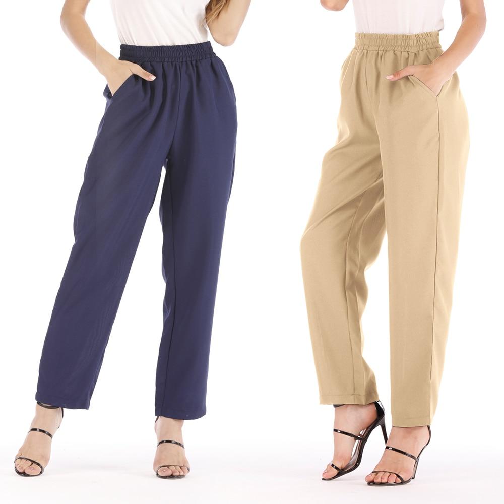 5xl Big Size Woman High Waist   Pants   Loose Cotton Linen Trousers Female Ladies Autumn Office Harem   Pant   Casual   Capris   Bottom