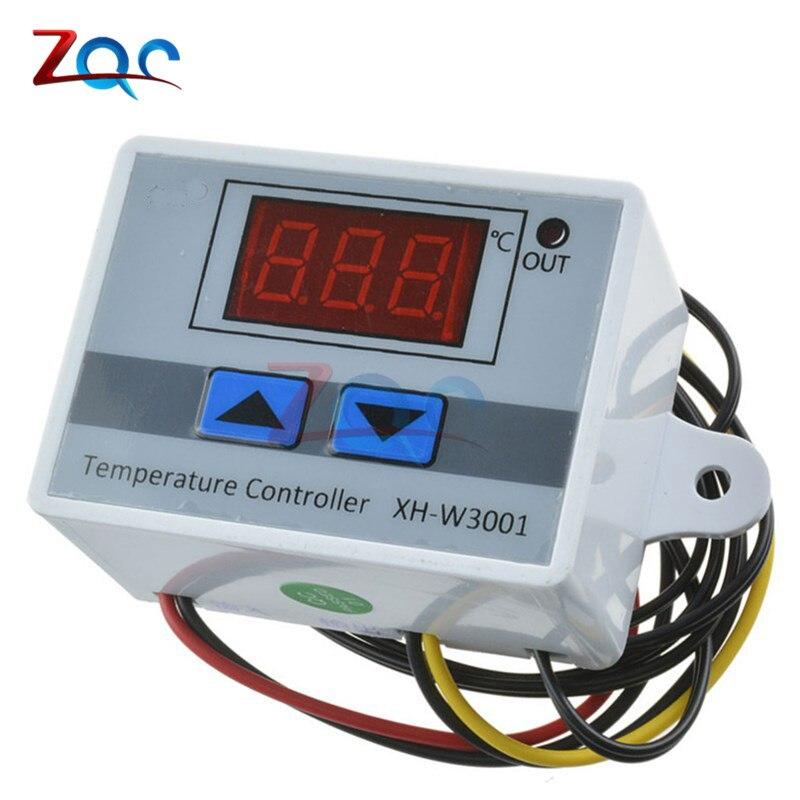 XH-W3001 W3001 Temperature Controller Digital LED Temperature Controller Thermometer Thermo Controller Switch Probe 220V эпилятор depilador hs 3001 hs 3001