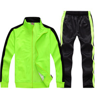 Long Sleeve Soccer Sets Football Jerseys And Pants And Jacket Tracksuit Training Suit Kids To Adult