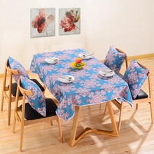 New Arrival 1 Piece Mandala Floral Plaid Tablecloth Dinner Table Cloth  Dining End Table Cover Home