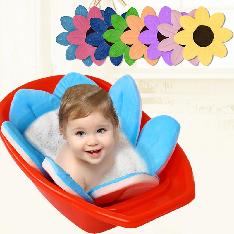 Aliexpress.com : Buy Newborn Baby Bathtub Foldable Blooming Flower ...