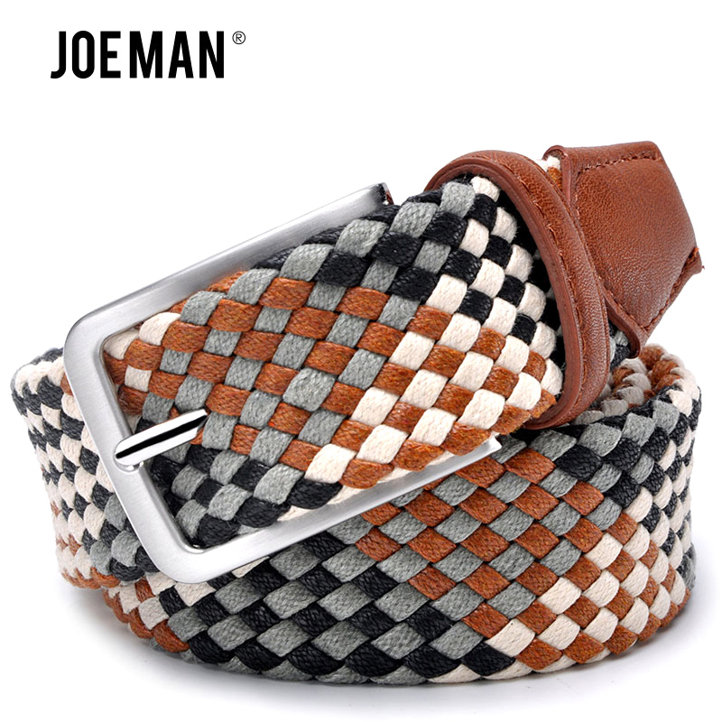 2017 Fashion Lovers Braided Belt Without Holes Men Style Women Style Pipe Cotton Belts Mixed Color High Quality Free Shipping