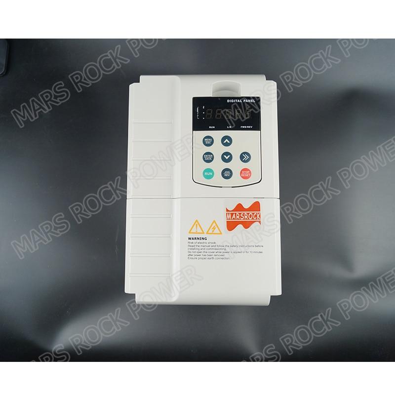 7.5KW 17A 3 phase 380VAC mppt solarpumpenwechselrichter für 7.5HP 5.5KW wasserpumpe DC schalter innen PV solarpumpe controller - 2