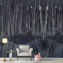 Custom wallpaper tree forest black personality tooling wall decoration waterproof material 42crmo material press brake upper tooling