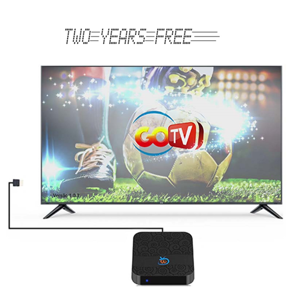 Brasil IPTV BOX With TV VOD Playback Application 4K HD Play Video Game IPTV Subscription Android