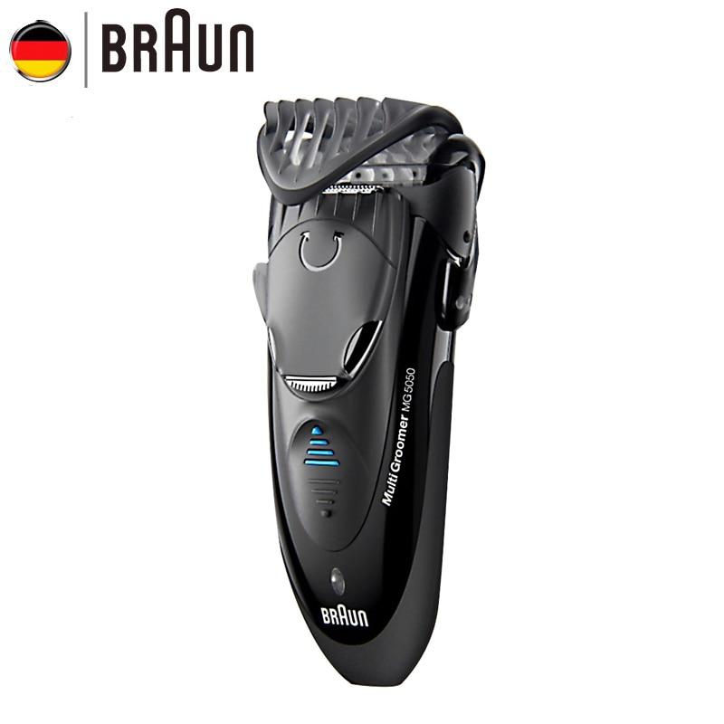 Электробритва Braun MG5050, бритвенный станок, электрическая бритва для мужчин, перезаряжаемая бритва, Barbeador, уход за лицом