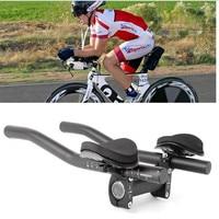 Bike Rest Handlebar Lightweight Durable Cycling Bicycle Relaxation Handle Triathlon MTB Road Bike Arm Rest Bike Aerobar #2a