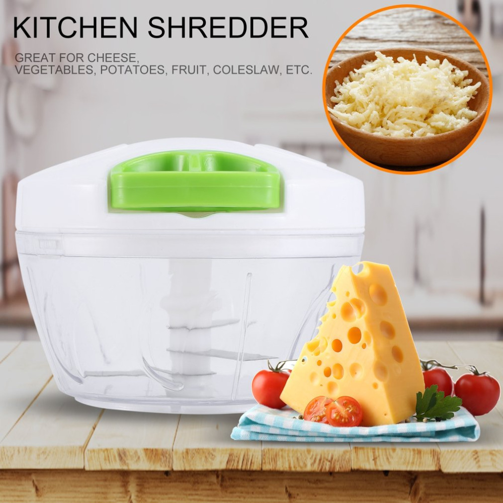 2018 Manual Kitchen Shredder Small size Vegetable Fruit Grater Slicer Multifunctional Rotary Shredder Kitchen Vegetables Cutter hot sale multifunctional kitchen supplies cooking tools fruit vegetables peeler