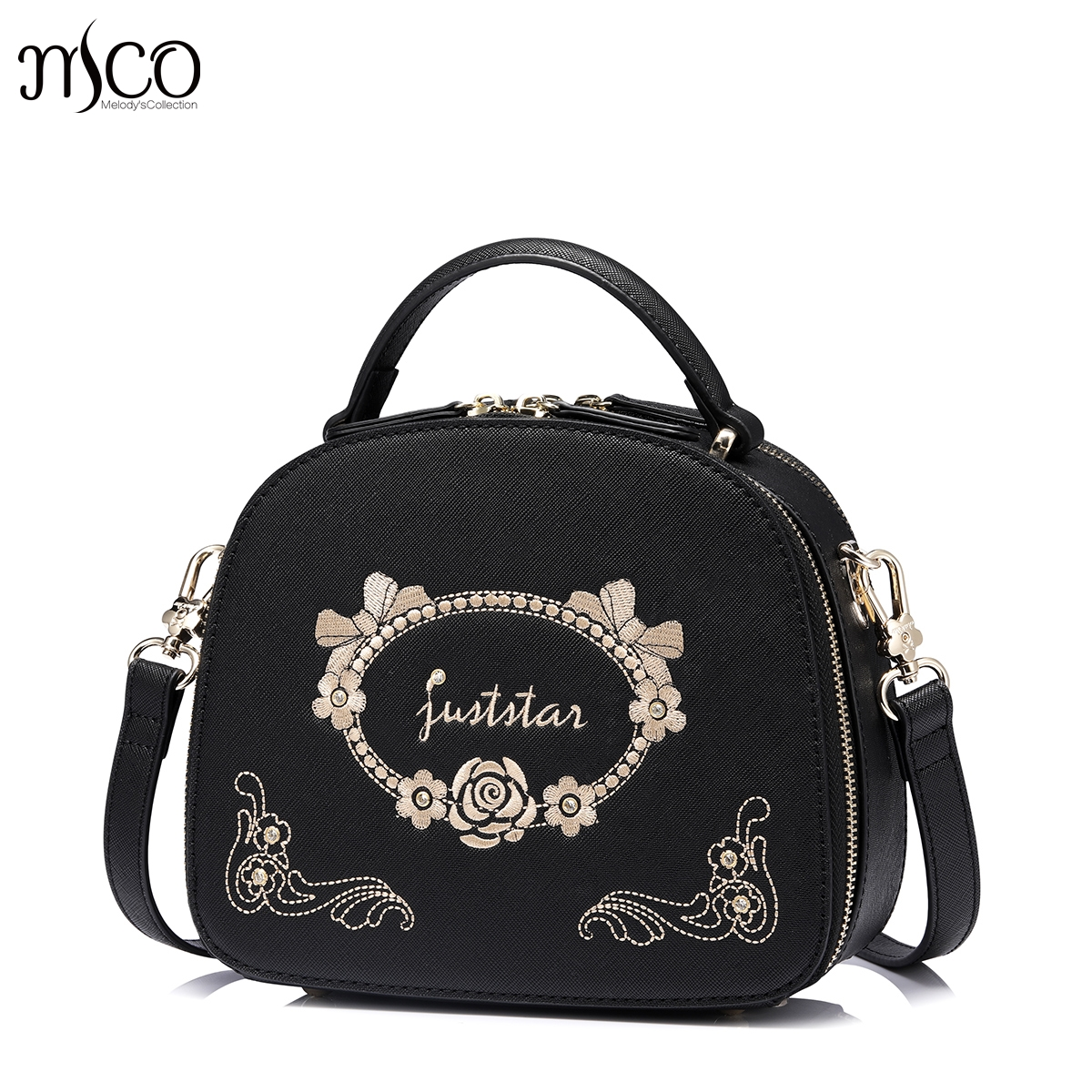 Women Luxuriant Embroidery Messenger Bag Flower Handbag Ladies Small  Crossbody Bags Famous Brands Designers Shoulder Bags 0a0885aeb474f