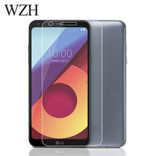 WZH Tempered Glass LG Q6 Screen Protector LG Q6 alpha Q6a Q 6 a M700 Screen Protector Glass Protective Flim Cover Case(China)