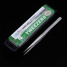 Precision Stainless Steel Tweezers Diy Vetus Switzerland Herramientas Repair Tools ST-11