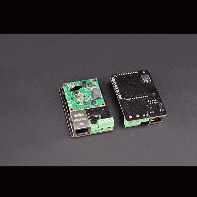 200Mbps ROV Power Carrier Module DC 12V 300m Transfer HomePlug AV IEEE802.3 IEEE802.3u Standard Homeplug Remote Operated Vehicle