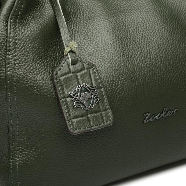 ZOOLER Luxury woman Handbags Genuine Leather Hobo Bag Fashion Soft Casual Tote Top-handle Shoulder Bags bolsos mujer#BC-8130
