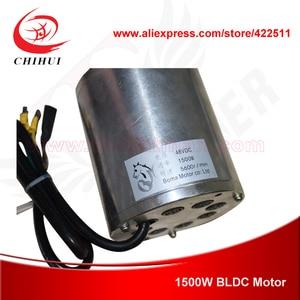 Image 5 - 1500ワット48ボルトブラシレス電気dcモータ1500ワット電動スクーターbldcモータbomaブラシレスモーター(スクーターパーツ)