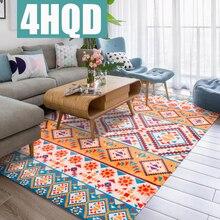 Retro national wind living room carpet Nordic coffee table sofa large bedroom bedside blanket