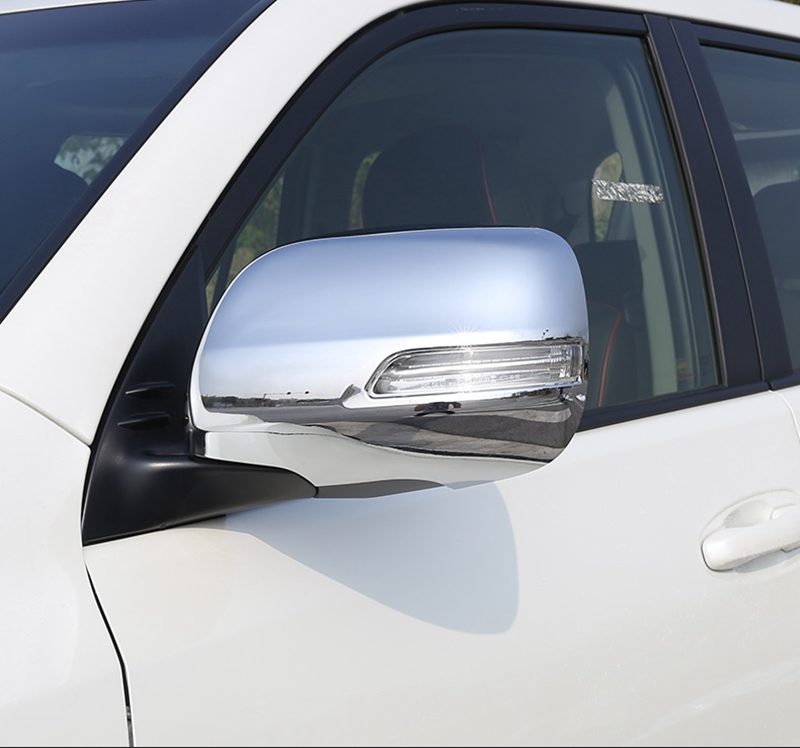 Montford Abs Chrome External Side Door Mirror Covers Rear View
