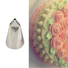 Hoge Kwaliteit #95 Bladeren Buis Decorating Tip Icing Fondant Piping Decorating Nozzles Pastry Cake Decor Tool(China)