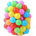 100 шт./лот эко-сельское красочные мягкий пластик воды в бассейне океанская волна шаровые детские веселые игрушки стресс воздушный шарик отдых на открытом воздухе спорта подарок