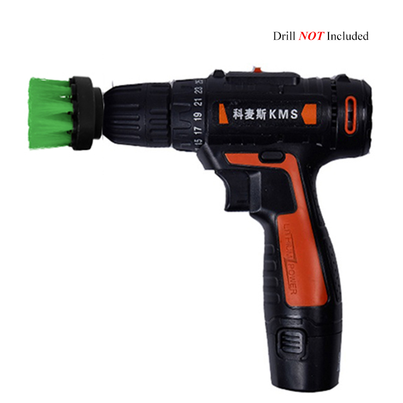 4 2 3 2 3.5 4 5 inch Electric Floor Cleaning Brush Drill Power Tool, For Removing Stubborn Stains On Stone Mable Ceramic Tile, Green (1)