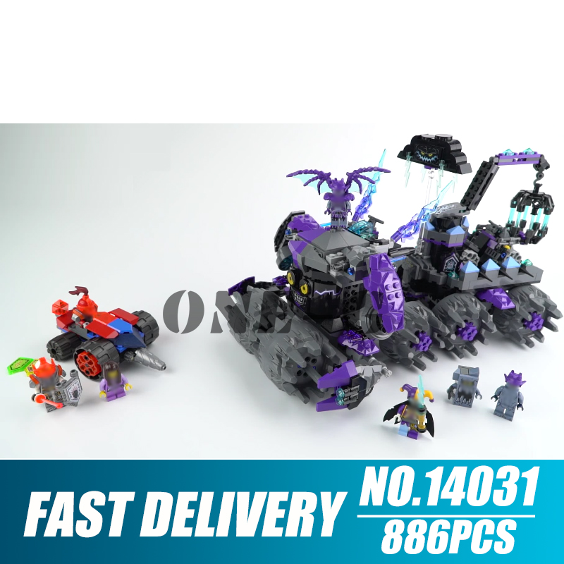 Building blocks 14031 Compatible with nexo knights 70352 Bricks Jestro s Headquarters figures Educational toys for